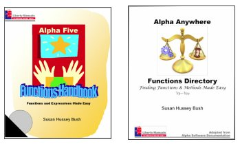 Alpha Five and Alpha Anywhere Functions & Methods